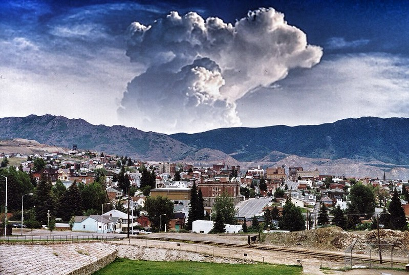 Butte Montana -Historic Jerome Former Mining Town  ~ 1985