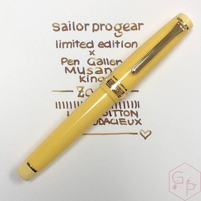 Sailor Durian Musang King Fountain Pen for Pen Gallery Gets The Royal Inking 4_RWM