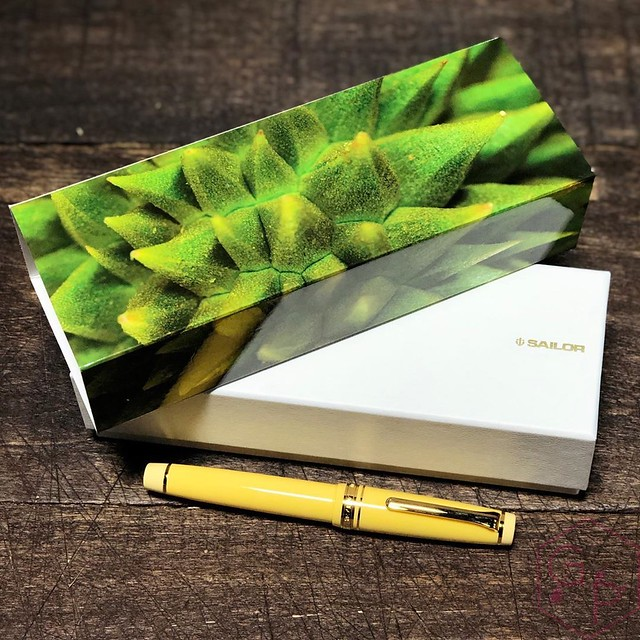 Sailor Durian Musang King Fountain Pen for Pen Gallery Gets The Royal Inking 1_RWM