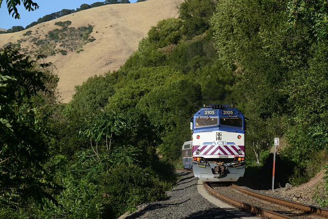 ACE 08 East in Niles Canyon