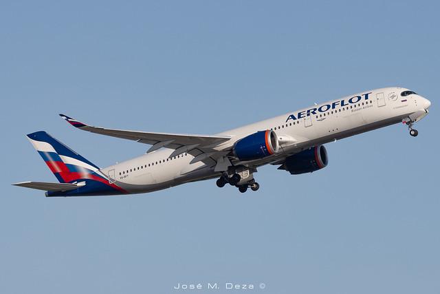 Aeroflot A350-941 VQ-BFY