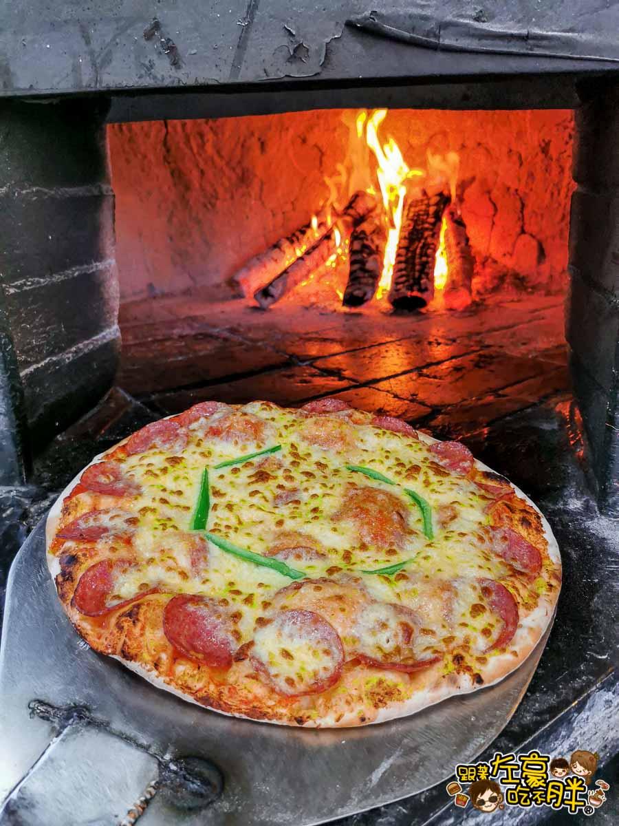 墾丁美食 紅磚窯手工窯烤披薩-37