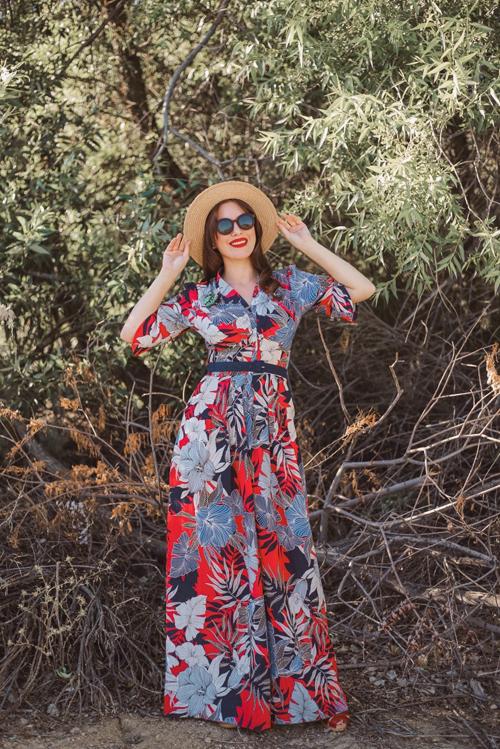Miss Candyfloss Boni-Roselee Jumpsuit