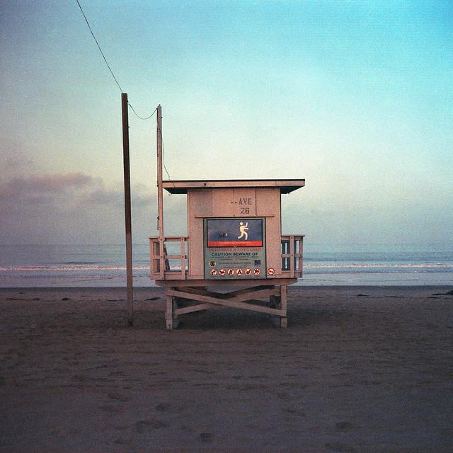 ave 26 (filmgrain). venice beach, ca. 2008.