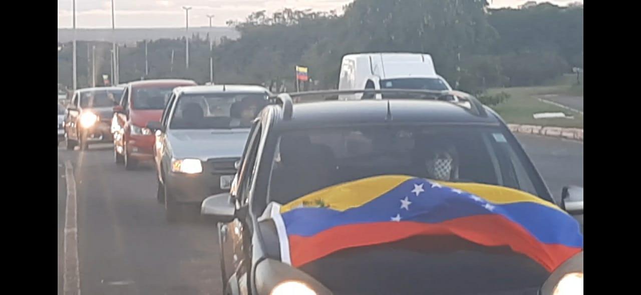 Representantes de movimientos sociales y partidos políticos de Brasil manifiestan su solidaridad con Venezuela y sus diplomáticos