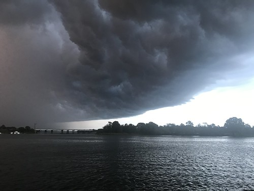 Photo of storm approaching