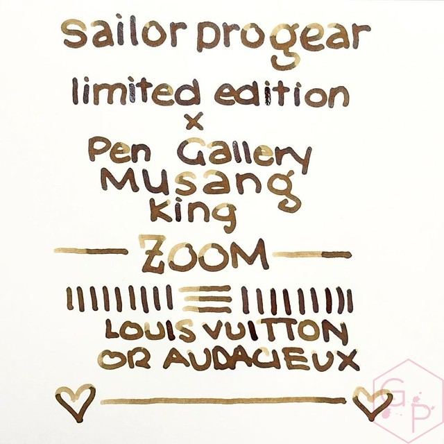 Sailor Durian Musang King Fountain Pen for Pen Gallery Gets The Royal Inking 3_RWM
