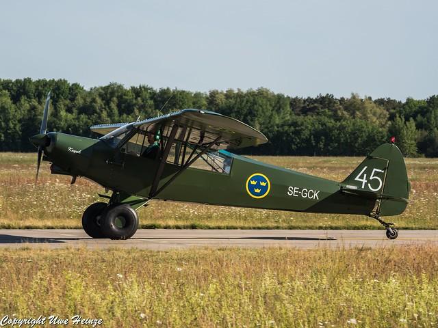Private Piper PA-18-150 Super Cub SE-GCK
