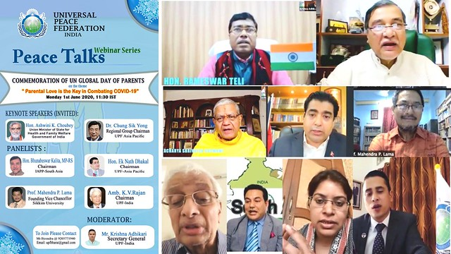 India-2020-06-01-India Celebrates Global Day of Parents with Virtual Conference