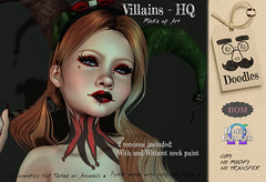 Villains -HQ Make up