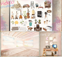 Hideki - Creations Gacha Set @ equal10