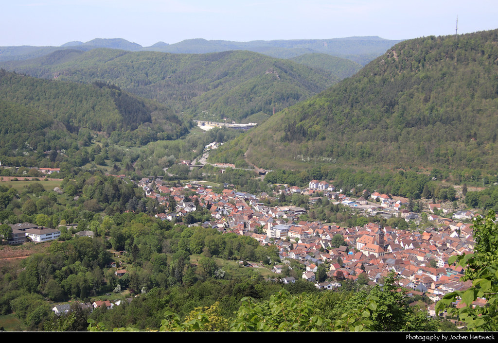 View from Burg Trifels, Annweiler, Germany