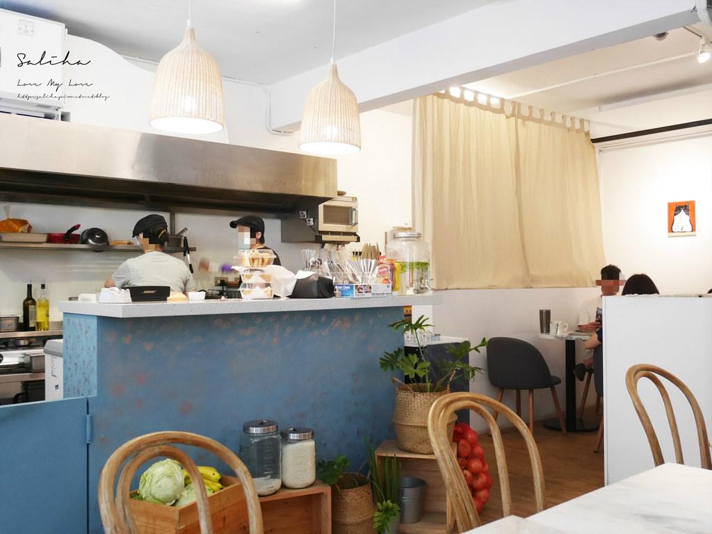 新店七張站質感文青咖啡館喜室早餐 好吃早午餐推薦氣氛舒服美食 (3)