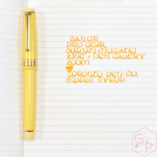 Sailor Durian Musang King Fountain Pen for Pen Gallery Gets The Royal Inking 8_RWM
