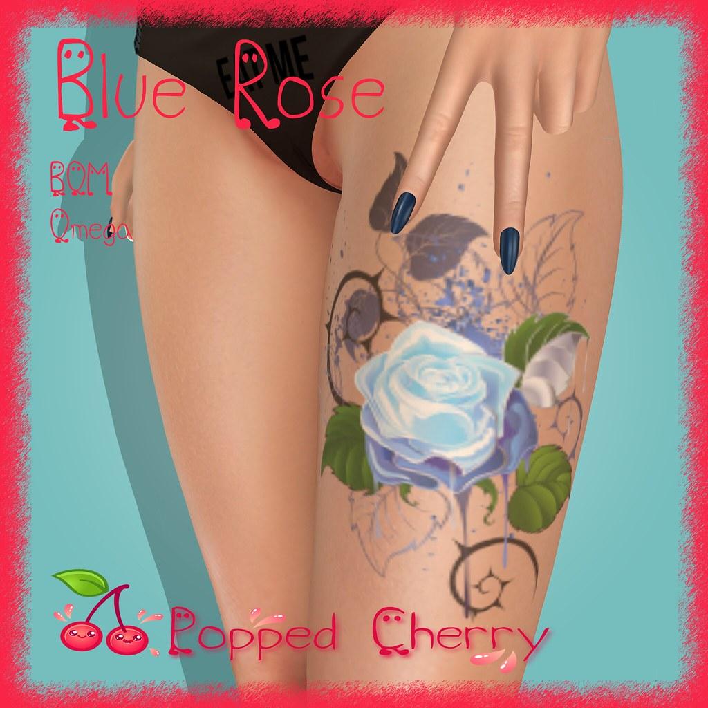 :Popped Cherry: Blue Rose