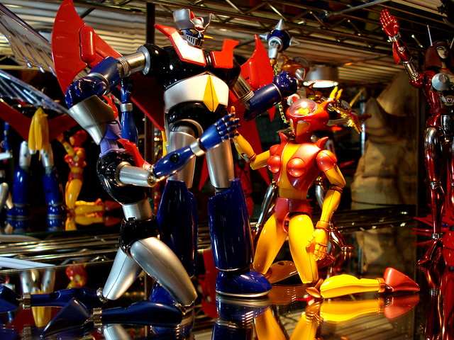 Mazinger and his angels