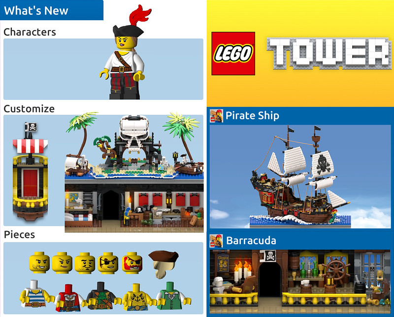 LEGO Tower Pirates