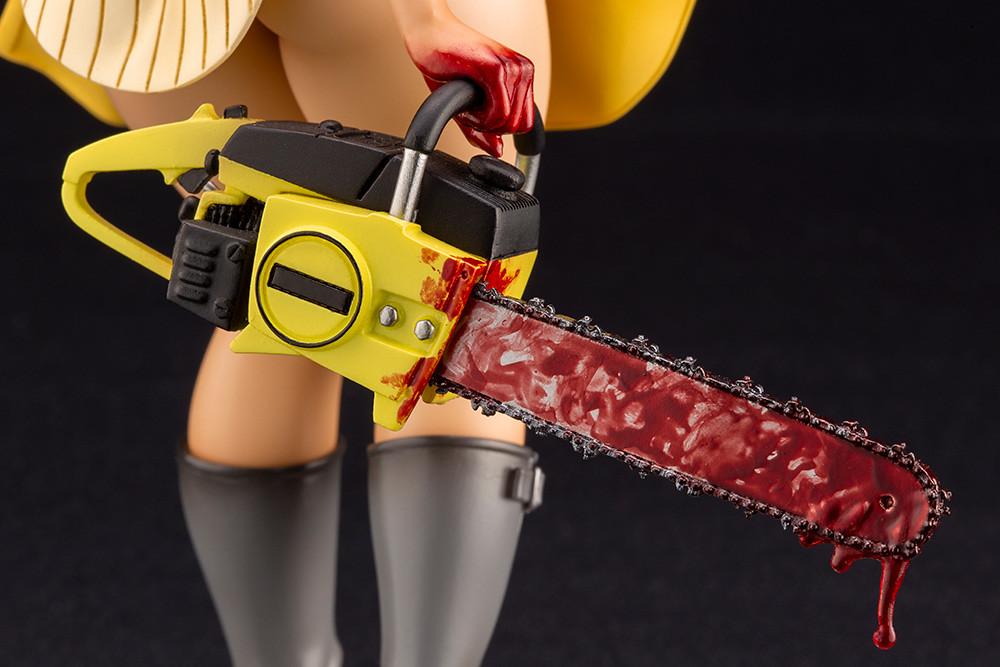 豐滿的黑肉美少女重磅來襲! 壽屋 HORROR美少女系列《德州電鋸殺人狂》皮臉(レザーフェイス)1/7 比例PVC塗裝完成品