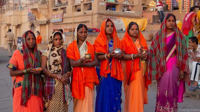 7 prières à Varanasi - Inde