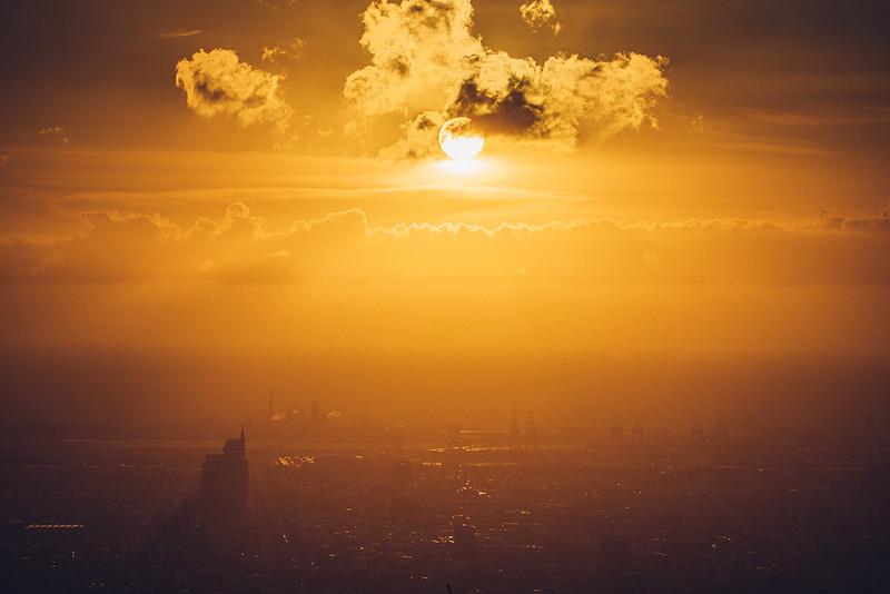 大肚山夕陽|Tamron 28-200mm f/2.8-5.6 實拍圖
