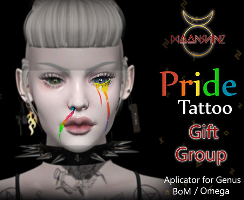 ::moonshine:: Pride Tattoo / Gift Group June