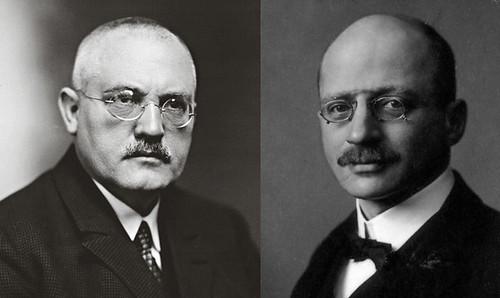 Carl Bosch y Fritz Haber, inventores de los abonos sintéticos