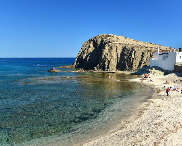 Isleta del moro en Cabo de Gata