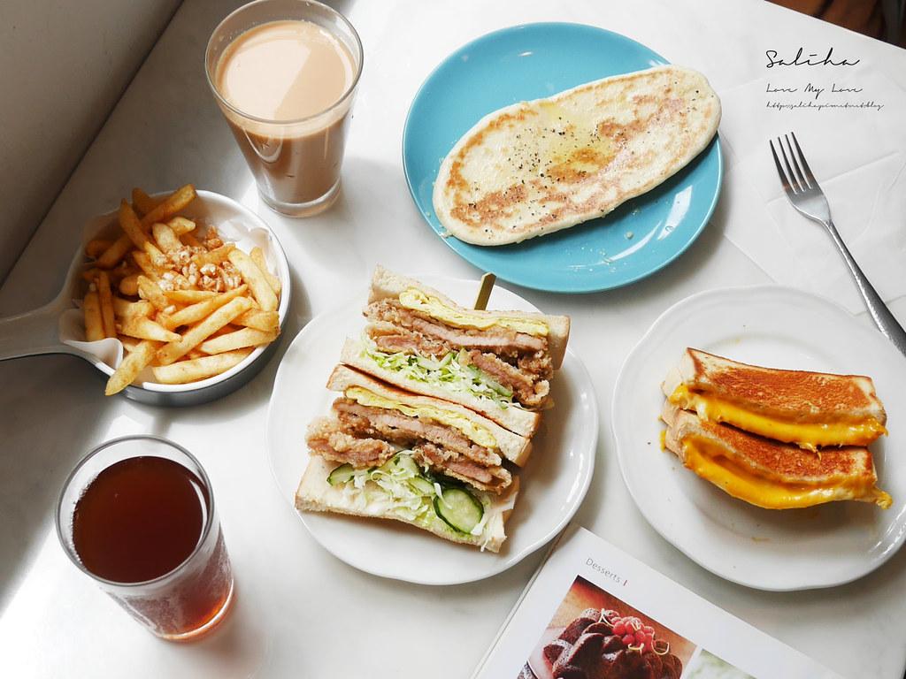 台北新北新店七張附近好吃早午餐廳推薦喜室早餐質感咖啡廳ig打卡美食