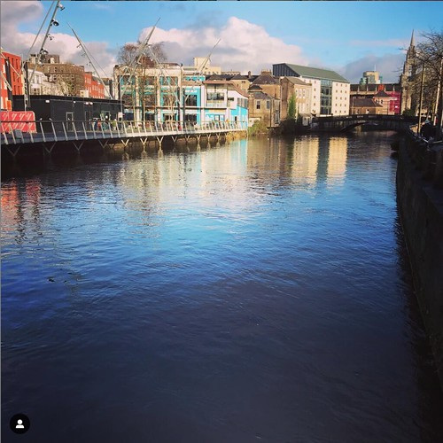 Georgina Ingham | Culinary Travels A Guide to Cork, Ireland. Looking down the Lovely Lee towards the Elecric, a great place to enjoy an array of seafood and some al fresco riverside eating
