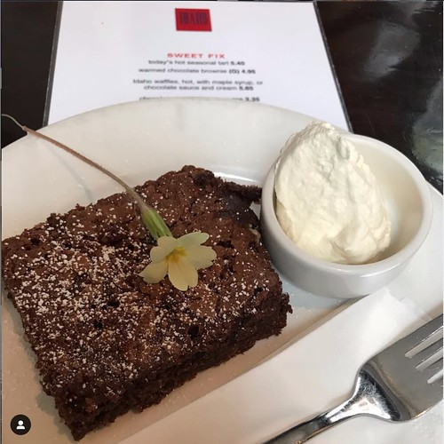 Georgina Ingham | Culinary Travels A Guide to Cork Ireland, Brownies at the Idaho Cafe, soft, squidgy, light and oh so good. Do stop as Idaho is the perfect place to refuel when out shopping or exploring this magnificent city