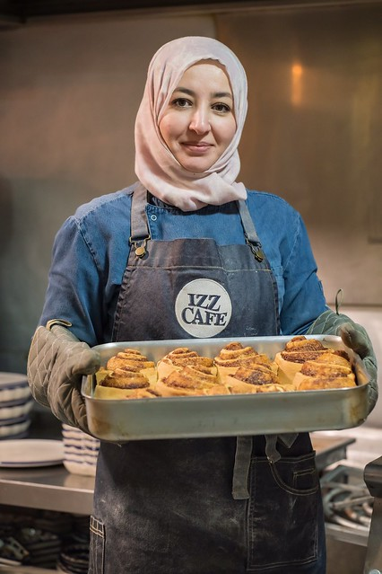 Georgina Ingham | Culinary Travels A Guide to Cork, Ireland. Cafe Izz a taste of Palestine brought to you by a Refugee couple who are overwhelmed by the warm welcome this friendly city has given them