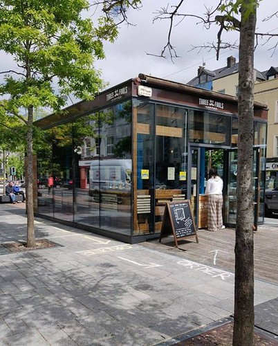 Georgina Ingham | Culinary Travels A Guide to Cork The Fools Coffee is located in a glass pod on Grand Parade, as such it offers great people watching opportunites whilst you enjoy the perfect coffee. I love sitting in here when it rains!