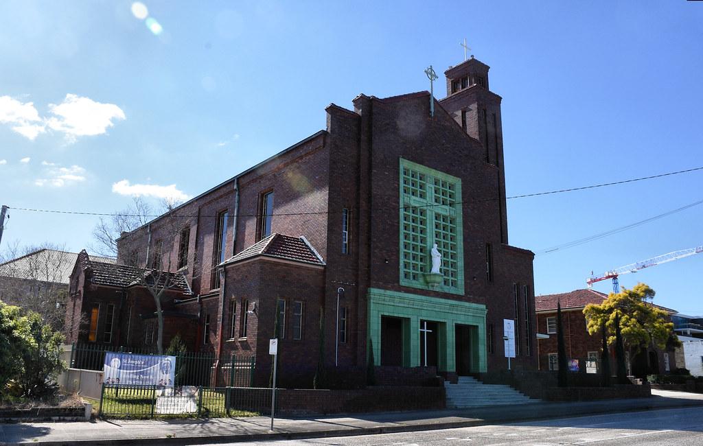St Joseph's Catholic Church, Belmore, Sydney, NSW.