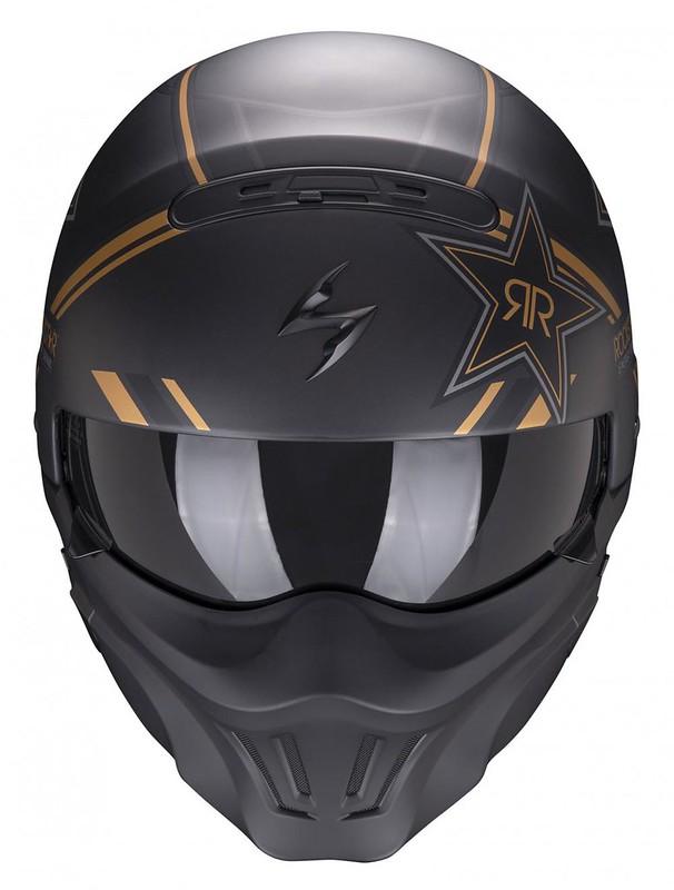 Scorpion Exo Combat Evo Rockstar Front