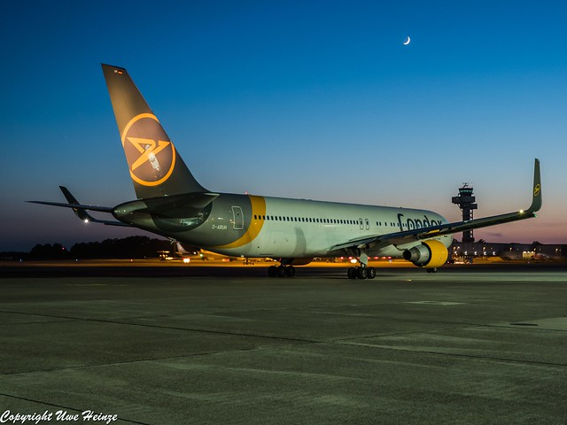 Condor D-ABUH HAJ Last Light