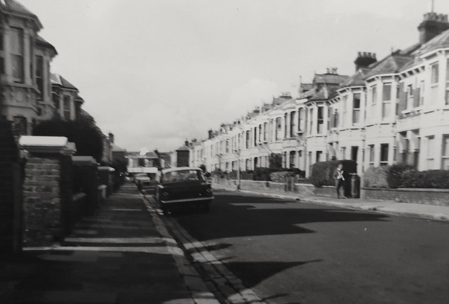 Exeter Road, Southsea, 1964