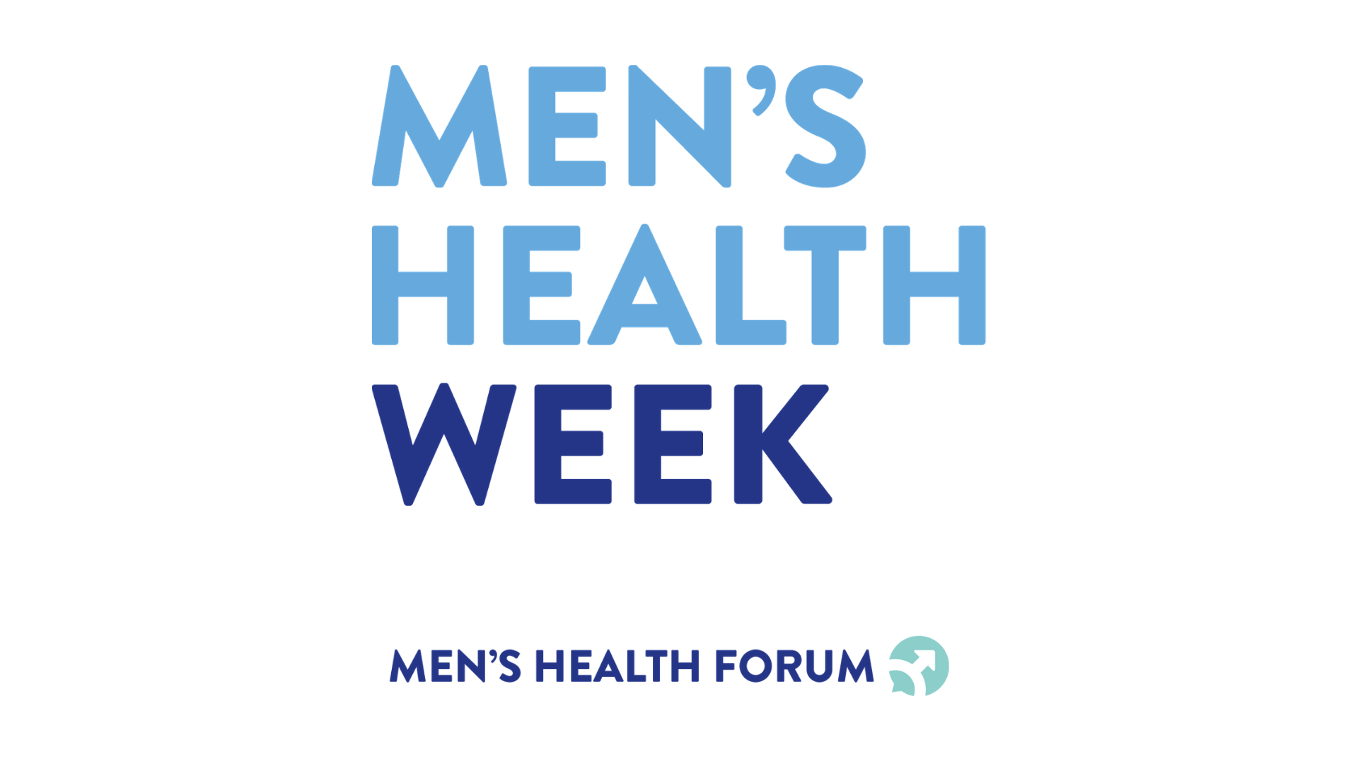 Men's Health Week logo
