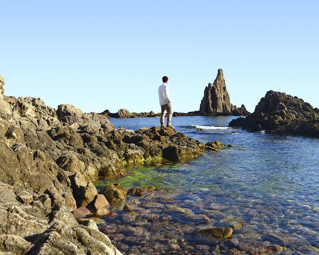 Aguas cristalinas del arrecife de las Sirenas
