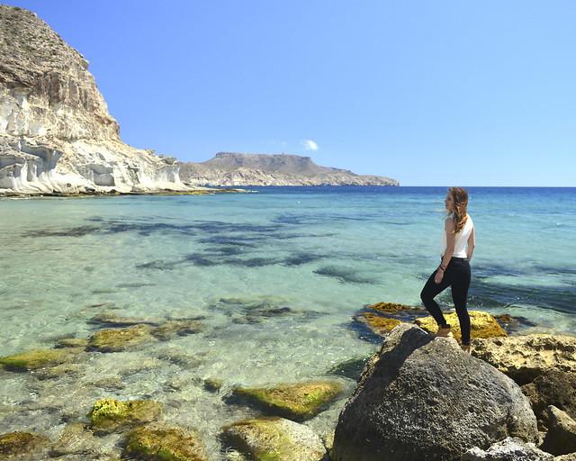 Cala de Enmedio, de los lugares más espectaculares que ver de Cabo de Gata