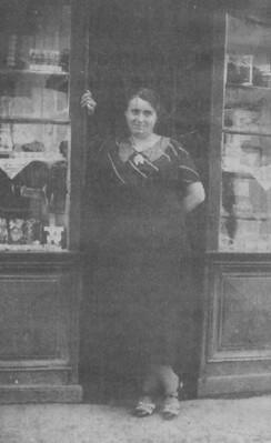 La pâtisserie Farinetti dans les années 1930
