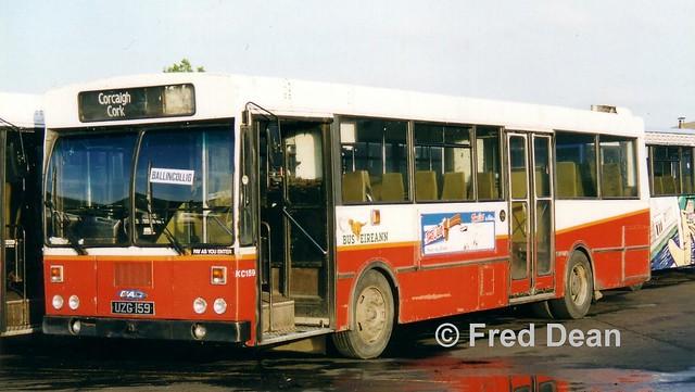 Bus Éireann KC 159 (UZG 159).