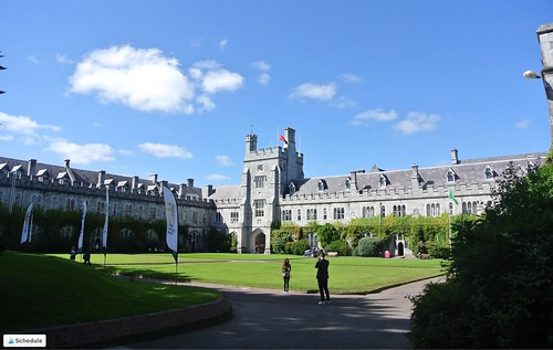 Georgina Ingham | Culinary Travels A Guide to Cork, Ireland. University College Cork is open to the public to stroll around the grounds. And what fabulous grounds they have witha riverside campus. The buildings however, always remind me of Hogwards. Oh to study here, how bad?
