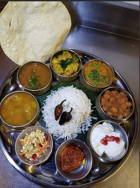 Georgina Ingham | Culinary Travels a Guide to Cork, Ireland - Iyers Cafe, a taste of South India in Cork. Vegetarian food so good that you'll never miss the meat  - Vegetarian Thali