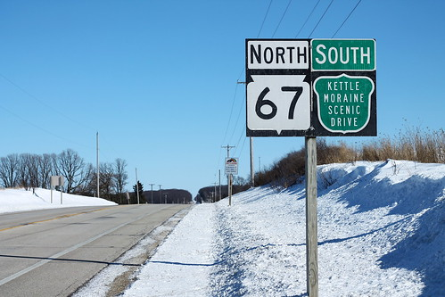 WI67 North and Kettle Moraine South Signs | by formulanone