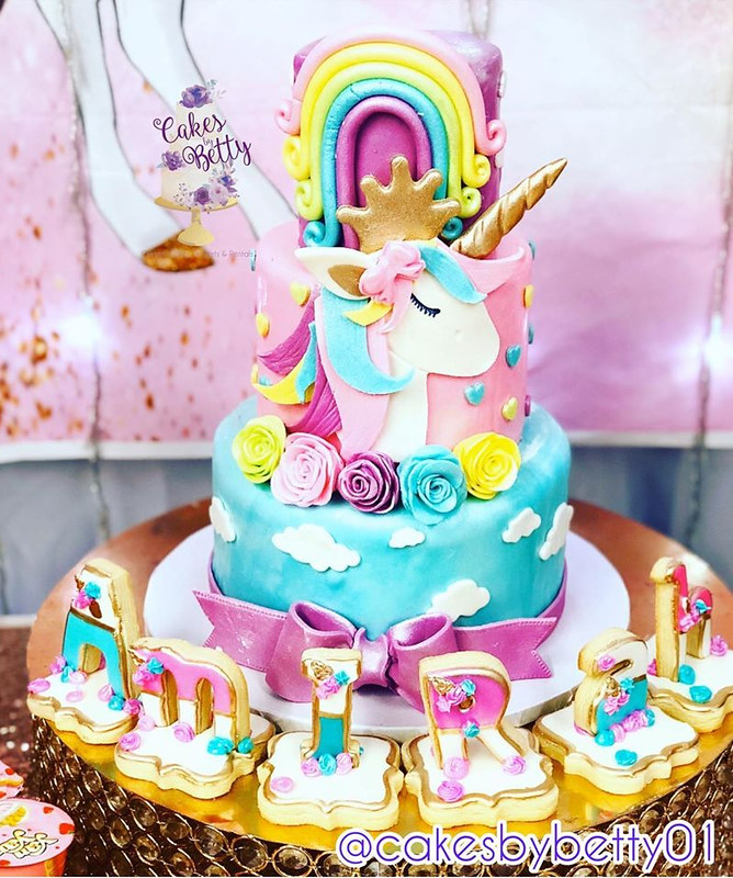 Unicorn Cake from Cakes by Betty