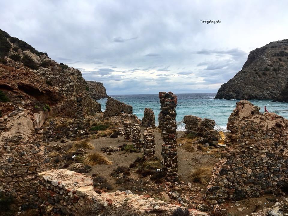 Lost place on Sardinia, looks like old factory