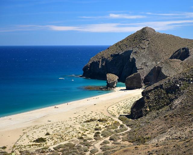 Playa de los Muertos, la mejor playa de Andalucía