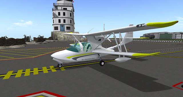 Mikoto's Super D-Trel Plane!