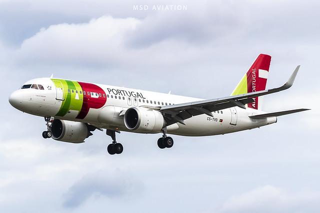 Airbus A320-251N CS-TVD Air Portugal