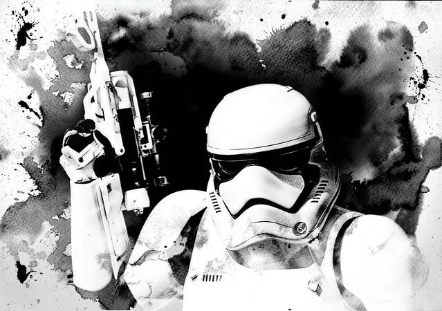 Stormtrooper Splash
